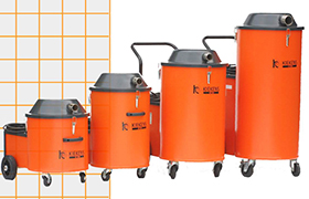 Kiekens Heavy Duty Industrial Vacuum Cleaners